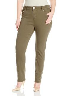 Lucky Brand Women's Plus Size Emma Straight Jean Desert IVY
