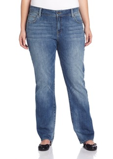 Lucky Brand Women's Plus-Size Georgia Straight Jean