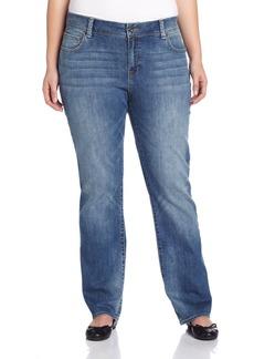 Lucky Brand Women's Plus-Size Georgia Straight Jean  22W