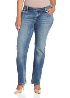 Lucky Brand Women's Petite-Plus-Size Georgia Straight Leg Jean
