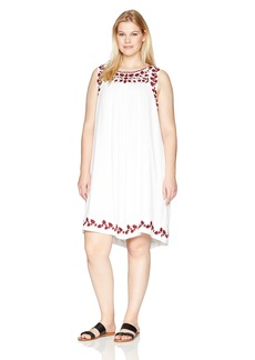 Lucky Brand Women's Plus Size Hannah Shift Dress  3X