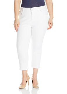 Lucky Brand Women's Plus Size High Rise Emma Crop Jean