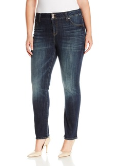 Lucky Brand Women's Plus Size High Rise Emma Straight Jean