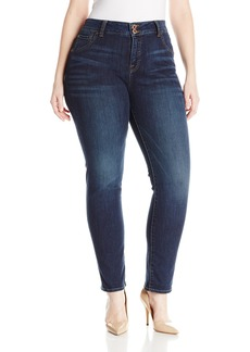Lucky Brand Women's Plus Size High Rise Emma Straight Jean In