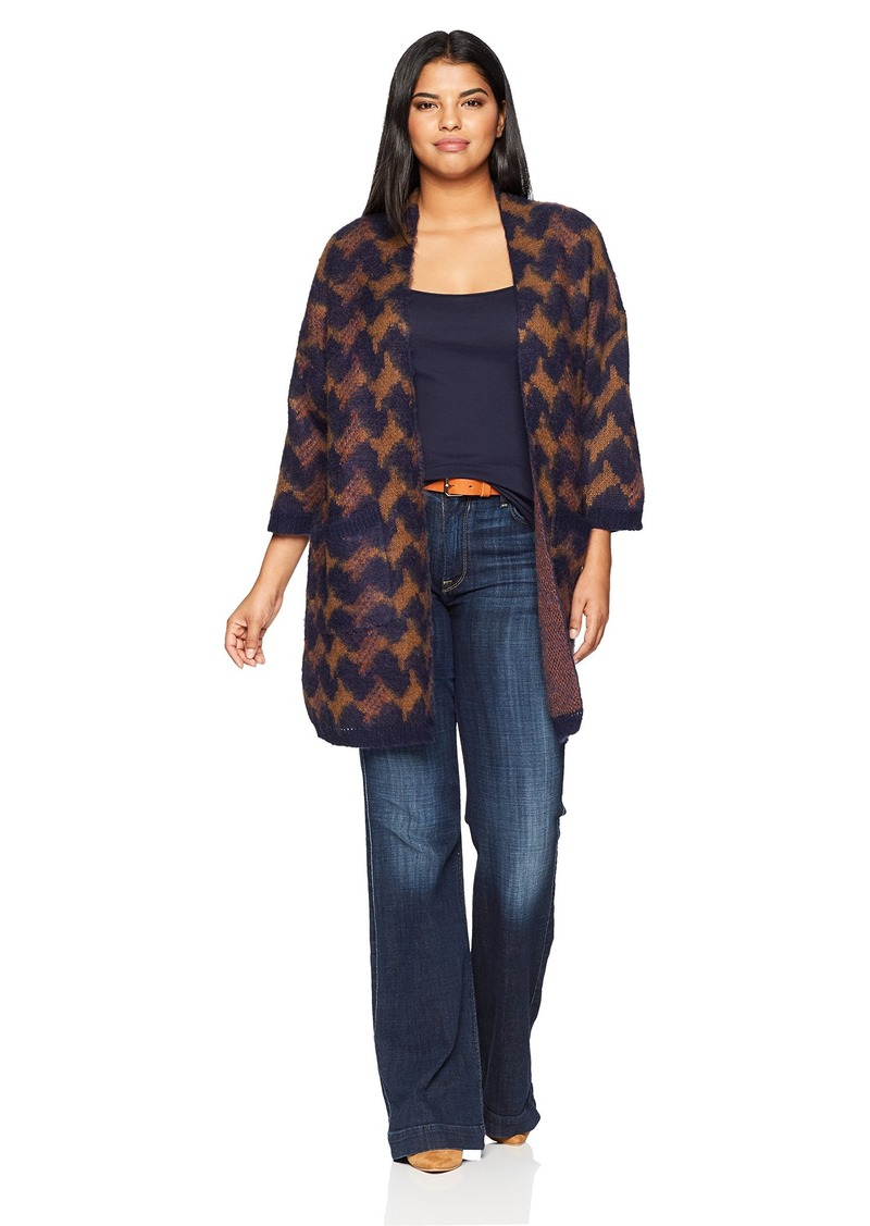 9d64ed6321 Lucky Brand Lucky Brand Women s Plus Size Iona Cardigan Sweater ...