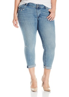 Lucky Brand Women's Plus Size Mid Rise Georgia Boyfriend Jean