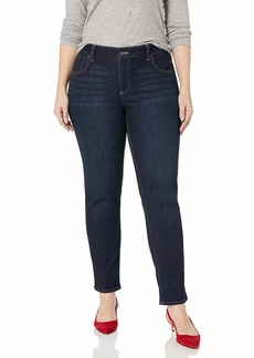 Lucky Brand Women's Plus Size Mid Rise Ginger Skinny Jean in  W
