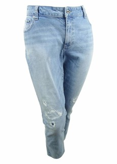 Lucky Brand Women's Plus Size Mid Rise Ginger Skinny Jean W