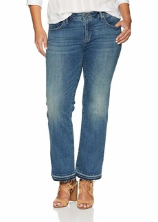 Lucky Brand Women's Plus Size MID Rise Lolita Bootcut Jean in Wichita RH/Pure