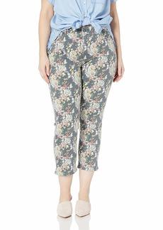 Lucky Brand Women's Plus Size MID Rise Lolita Crop Jean in