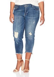 Lucky Brand Women's Plus Size Mid Rise Reese Boyfriend Jean