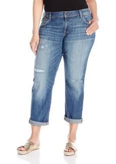 Lucky Brand Women's Plus Size Mid Rise Reese Boyfriend Jean In