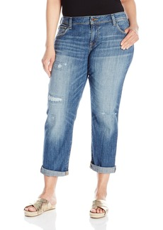 Lucky Brand Women's Plus Size Reese Boyfriend Jean  16W
