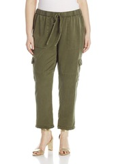 Lucky Brand Women's Plus Size Solid Cargo Pant