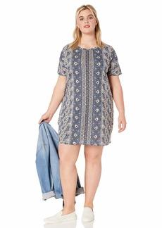 Lucky Brand Women's Plus Size The Summer TEE Dress  2X