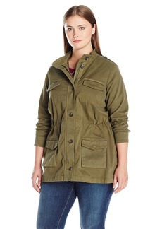 Lucky Brand Women's Plus Size Utility Jacket