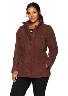 Lucky Brand Women's Plus Size Utility Jacket fig