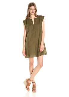 Lucky Brand Women's Popover Solid Dress