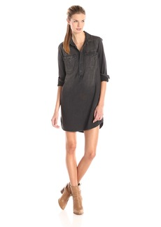 Lucky Brand Women's Popover Utility Dress  Small