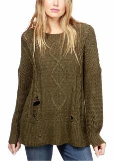Lucky Brand Women's Portland Pullover Sweater  XL