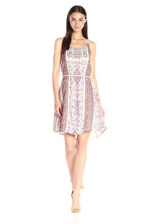 Lucky Brand Women's Printed Dress  Small