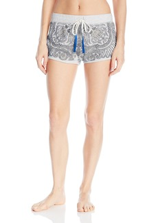 Lucky Brand Women's Printed French Terry Shorts