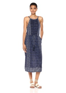 Lucky Brand Women's Printed Knit Dress