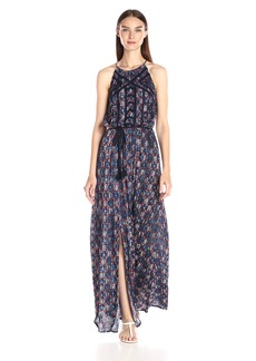 Lucky Brand Women's Printed Maxi Dress