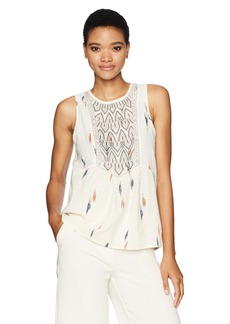 Lucky Brand Women's Printed Tank Top