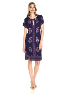 Lucky Brand Women's Printed Tee Dress