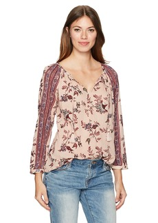 Lucky Brand Women's Printed Top