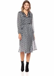 Lucky Brand Women's Printed WRAP Dress  XS
