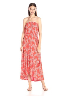 Lucky Brand Women's Radial Floral Dress