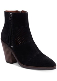 Lucky Brand Women's Ramses Block-Heel Booties Women's Shoes
