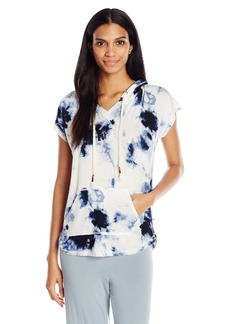 Lucky Brand Women's Relaxed Lounge Tie-Dye Hoodie  M