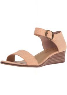 Lucky Brand Women's Riamsee Wedge Sandal   M US