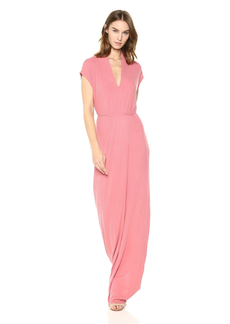 Lucky Brand Women's Rib Maxi Dress