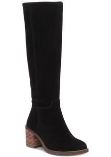 Lucky Brand Women's Ritten Wide-Calf Tall Boots Women's Shoes