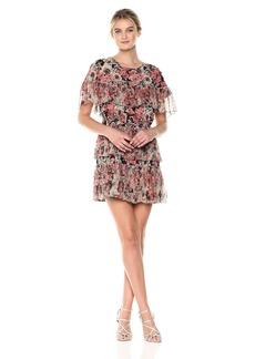 Lucky Brand Women's Rose Dress  XL