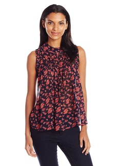 Lucky Brand Women's Rouched Yoke Tank Top