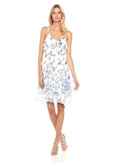 Lucky Brand Women's Ruffle Bare Strap Dress