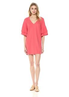 Lucky Brand Women's Ruffle Dress  XL