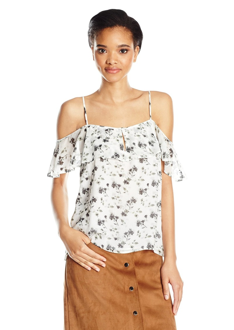 Lucky Brand Women's Ruffled Tank Top