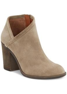 Lucky Brand Women's Salza Block-Heel Booties Women's Shoes
