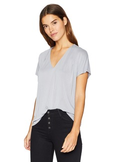 Lucky Brand Women's Sandwash Pleated TOP  XS