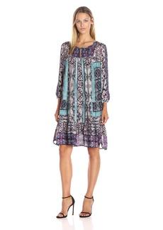 Lucky Brand Women's Scarf Print Dress
