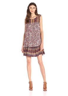 Lucky Brand Women's Scarf Print Dress