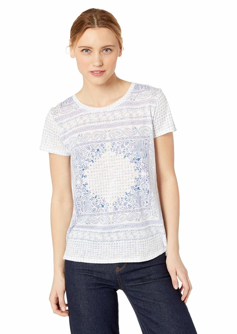 Lucky Brand Women's Scarf TEE  L