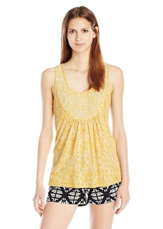 Lucky Brand Women's Scoop Neck with Beads Tank Top