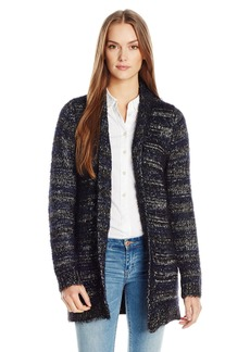 Lucky Brand Women's Shine Stripe Cardigan multi S